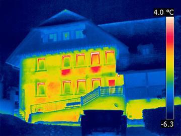 Thermografie Schwachstellen isolierung Frankfurt
