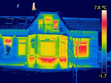 Wärmebildkamera Thermografie Syswe Frankfurt